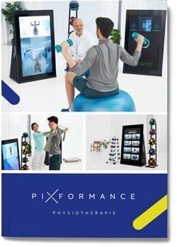 Frontseite der Broschüre für Physiotherapie
