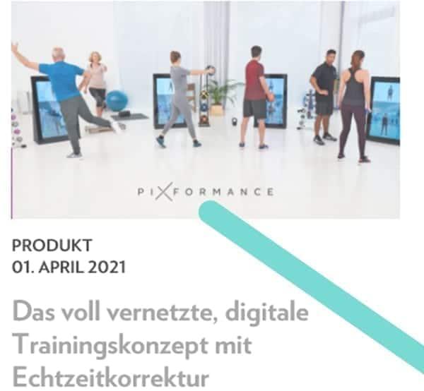 Das digitale Trainingskonzept von Pixformance wird in dem Magazin für Fitnessstudiobetreiber und Personal Trainer vorgestellt.