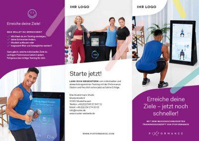 Flyer Pixformance Fitness